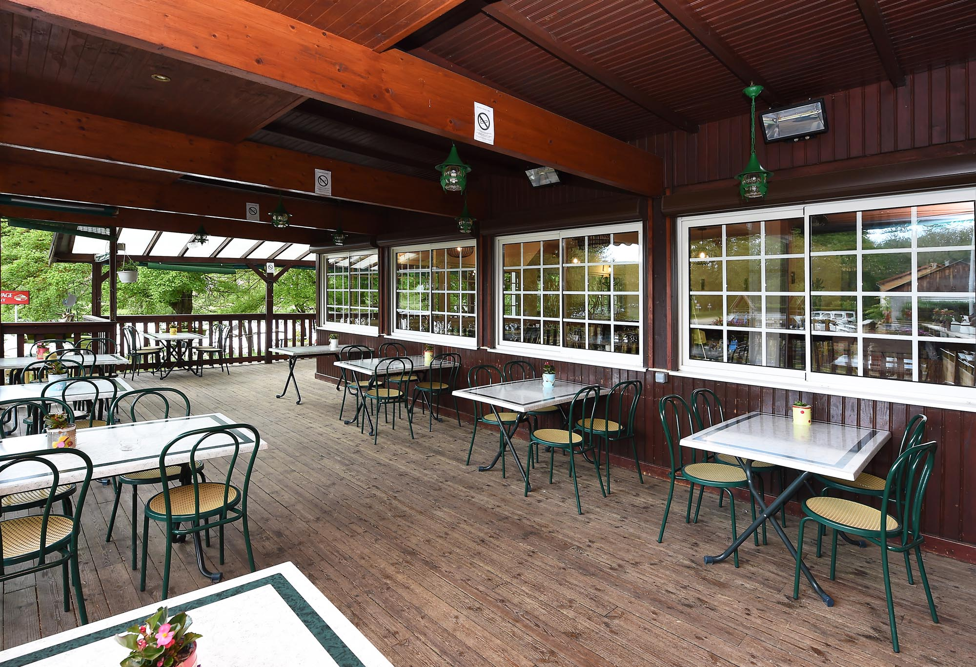 Chalet Beaurivage - Terrasse