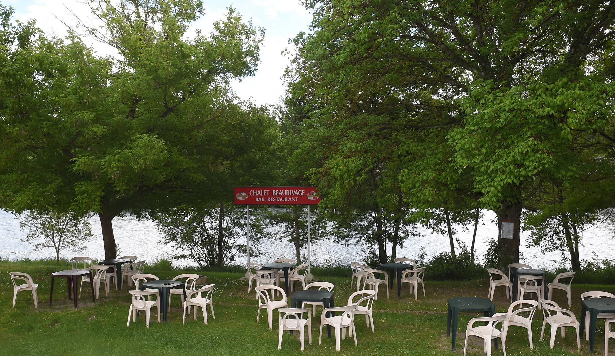 Chalet Beaurivage - bar jardin