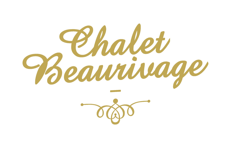 Logo simple orné Chalet Beaurivage